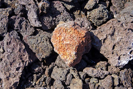 Detail, rough lava from ancient volcanic eruption,  on floor of the crater of  Kilauea iki, Hawaii Volcano National Park,  Hawaii Фото со стока