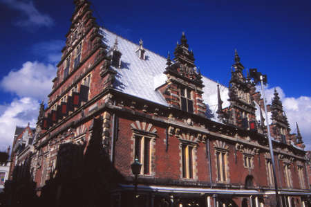 Old Town Hall of Haarlem, Netherlands