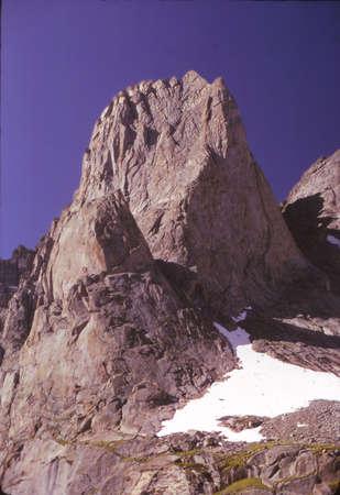 핑고라 & 서커스 타워, 대륙 분할, 바람 강 범위 록키 산맥, 와이오밍 스톡 콘텐츠