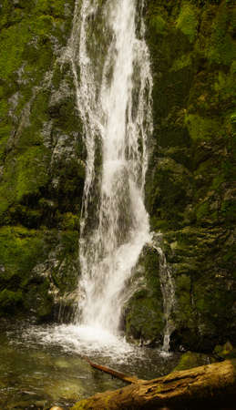 Madison Falls near the Elwha River in Olympic National Park, Washington