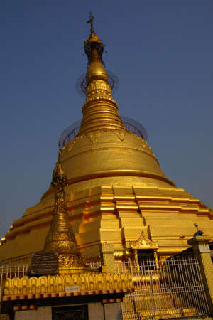 Botataung 파고다, 양곤, 미얀마 (버마)의 골든 stupa