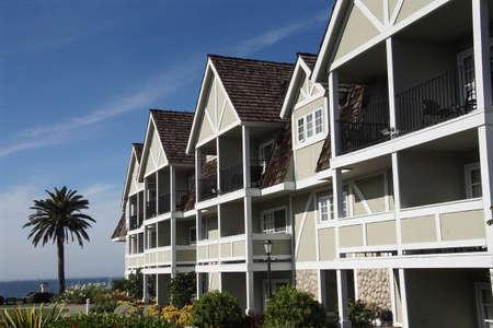 CARLSBAD, CALIFORNIA - DEC 4, 2017 - Beach resort in the coastal town of Carlsbad, California Redakční