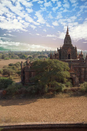 Ancient temples and stupas on the plainsBagan Myanmar (Burma)