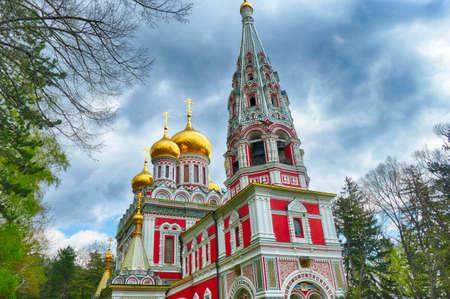 Russisch-orthodoxe Kirche, Shipchenski-Kloster des Heiligen Nikolaus, Shipka, Bulgarien