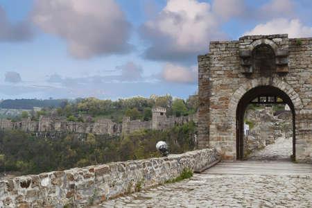Gateway of the Fortress Tsarevets, Veliko Tarnovo, Bulgaria