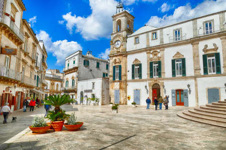 MARTINA FRANCA, ITALY - APR 10, 2019 -