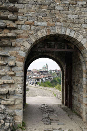 Gateway of the Fortress Tsarevets, Veliko Tarnovo, Bulgaria