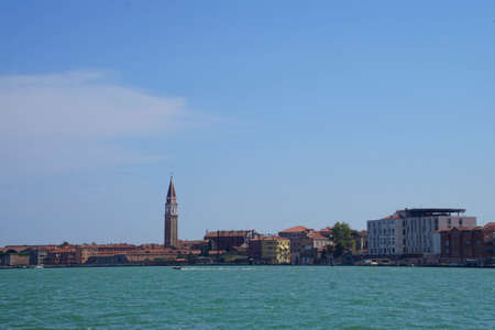 Piazza San Marco and Doges Palace on the Grand Canal in Venice, Italy