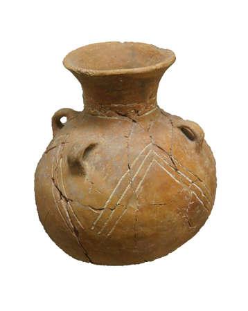 ANTALYA, TURKEY - JUN 2, 2014 - Ancient pottery excavated near  Antalya,  Turkey Фото со стока