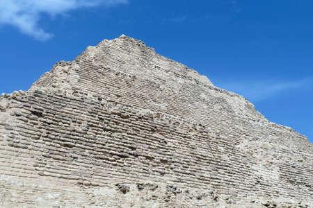 Step pyramid of Zoser, first pyramid ever consructed, Saqqara, Egypt