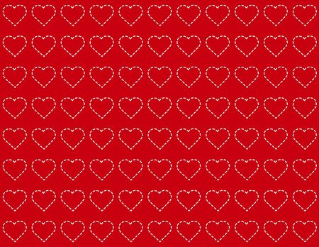 Seamless Background, heart design pattern for Valentines Day, anniversaries, birthdays, holidays, scrapbooks. EPS includes pattern swatch that will seamlessly fill any shape. Stock Vector - 11553658