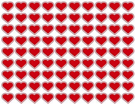 Seamless Background, heart design pattern for Valentines Day, anniversaries, birthdays, holidays, scrapbooks. EPS includes pattern swatch that will seamlessly fill any shape.