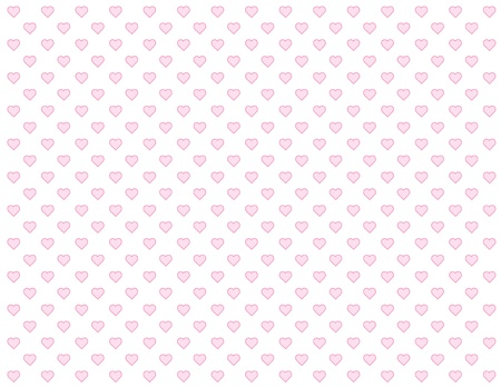 Seamless Background, tiny pink heart design pattern for Valentines Day, anniversaries, birthdays, holidays, scrapbooks. EPS file includes pattern swatch that will seamlessly fill any shape. Stock Vector - 11553666