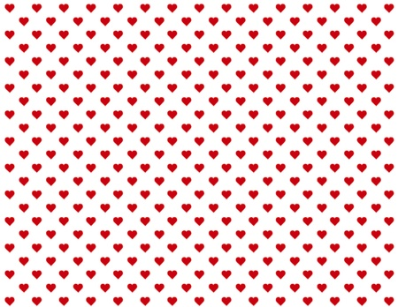 Seamless Background, tiny red heart design pattern for Valentines Day, anniversaries, birthdays, holidays, scrapbooks. EPS file includes pattern swatch that will seamlessly fill any shape. Stock Vector - 11553667