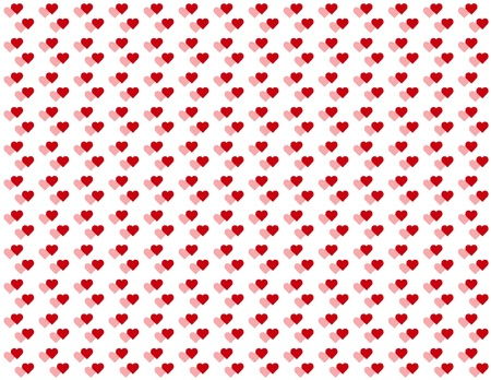 Seamless Background, double tiny heart design pattern for Valentines Day, anniversaries, birthdays, holidays, scrapbooks. EPS file includes pattern swatch that will seamlessly fill any shape. Stock Vector - 11553669