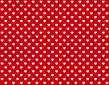 Seamless Background, tiny heart design pattern for Valentines Day, anniversaries, birthdays, holidays, scrapbooks. EPS file includes pattern swatch that will seamlessly fill any shape. Ilustração