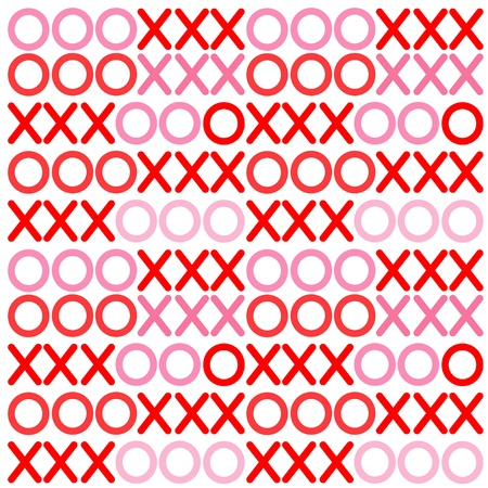 Seamless Abstract Background, Hugs and Kisses pattern design for Valentines Day, anniversaries, birthdays, holidays and scrapbooks. EPS includes pattern swatch that will seamlessly fill any shape. Vector