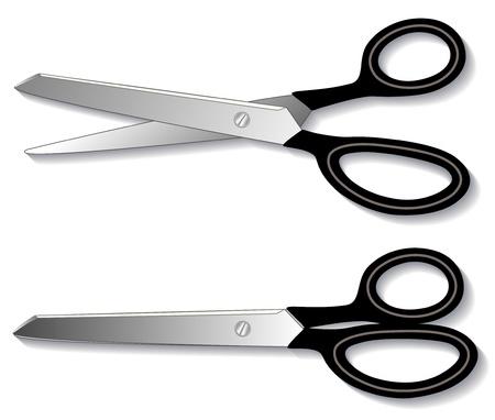 cutting blade: Cizalla para trabajo pesado (tijeras) para la costura, corte y confecci�n, colchas, artes textiles, artesan�a, hogar, oficina, h�galo usted mismo los proyectos. Vectores