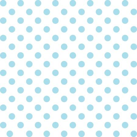 Nahtlose Muster, Pastell Aqua Polka Dots, weißen Hintergrund. enthält Muster-Farbfeld, das sich nahtlos füllen wird eine beliebige Form. Für Kunst, Kunsthandwerk, Stoffe, Dekorieren, Alben, Sammelalben. Vektorgrafik