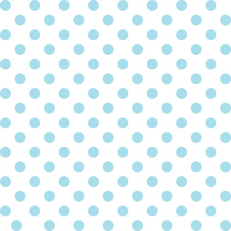 Seamless pattern, pastel aqua polka dots, white background.   includes pattern swatch that will seamlessly fill any shape. For arts, crafts, fabrics, decorating, albums, scrapbooks. Vector