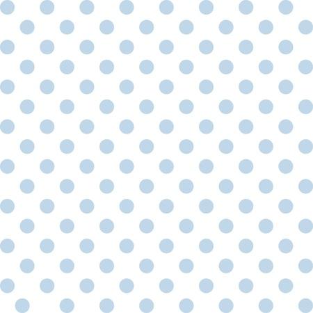 Nahtlose Muster, Pastell blaue Tupfen, weißen Hintergrund. umfasst Musterfeld sich nahtlos füllen jede Form. Für Kunst, Kunsthandwerk, Textilien, Dekoration, Alben, Sammelalben. Vektorgrafik