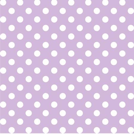 spachteln: Nahtlose Muster, gro�en wei�en Tupfen, Pastell Lavendel Hintergrund. enth�lt Muster-Farbfeld, das sich nahtlos f�llen wird eine beliebige Form. F�r Kunst, Kunsthandwerk, Stoffe, Dekorieren, Alben, Sammelalben. Illustration