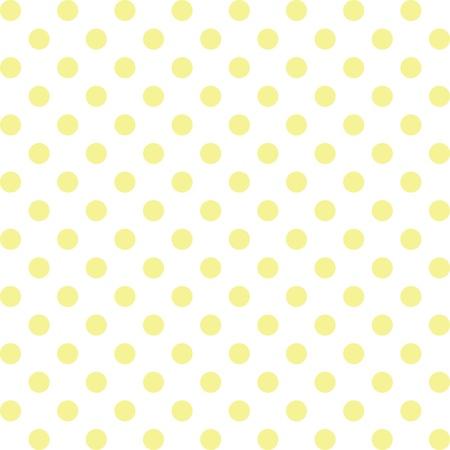 Seamless, pastel pois jaunes, fond blanc. comprend nuance de motif qui de façon transparente remplir n'importe quelle forme. Pour les arts, l'artisanat, tissus, décoration, albums, scrapbooks. Banque d'images - 12034808