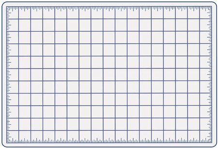 grid: Self Healing Cutting Mat, blue, for measuring and cutting materials for arts, crafts, sewing, quilting, applique, patchwork, do it yourself projects.