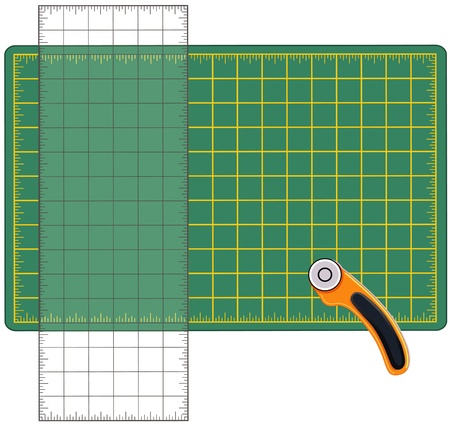 metal cutting: Self Healing Cutting Mat, Transparent Ruler, Rotary Blade Cutting Tool, for measuring and cutting materials for arts, crafts, sewing, quilting, applique, patchwork, do it yourself projects.