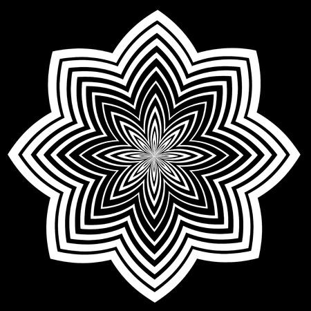 descending:  Black and White Design