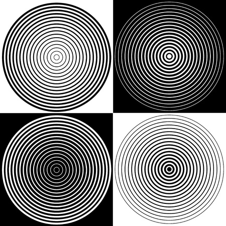 illusions: Abstract Spiral Design Background