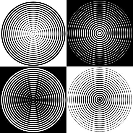 circulos concentricos: Espiral Resumen Antecedentes Dise�o Vectores