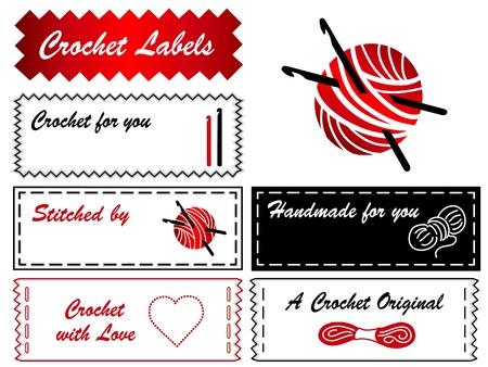 Crochet Hooks Labels