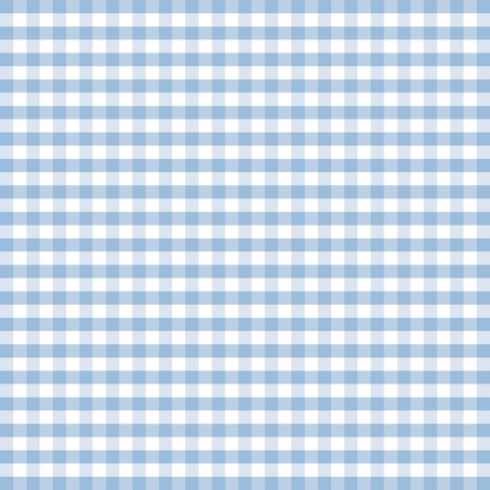 gingham: Seamless Pattern, Pastel Blue and white gingham check background