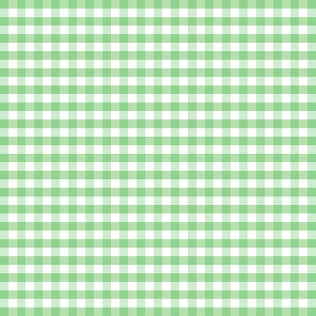 Seamless Pattern, Pastel Green and white gingham check background
