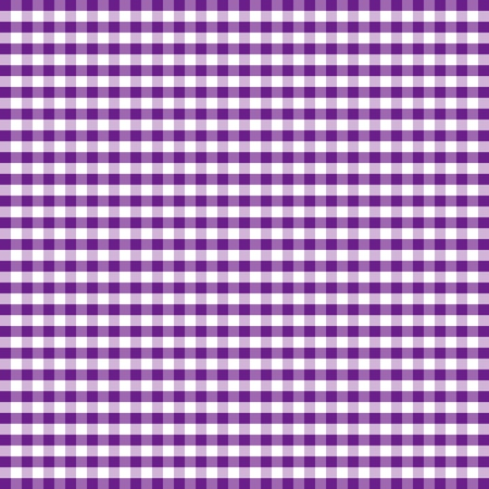 Seamless Pattern, Purple and White Gingham Check Background     Stock Vector - 12972680