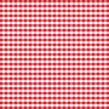Seamless, rouge et blanc carreaux vichy fond Banque d'images - 12972686
