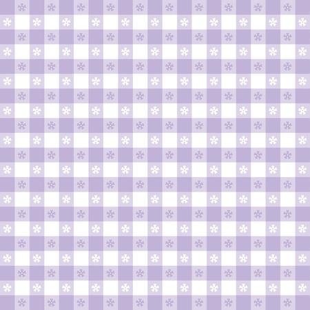 Modello tovaglia Seamless, pastello lavanda gingham controllare EPS8 file include campione di pattern che senza soluzione di continuità riempire qualsiasi forma per pic-nic, ristoranti, bar, bistrot, decorazione della casa, arte, artigianato, album, album Archivio Fotografico - 13043250