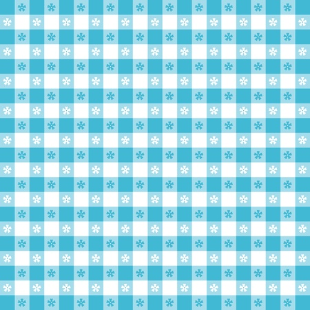 Seamless tablecloth pattern  Ilustrace