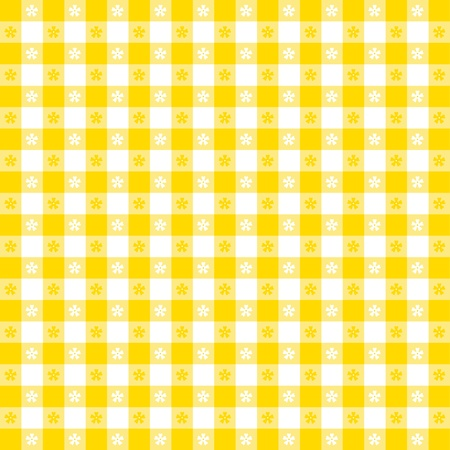 gingham: Seamless tablecloth pattern  Illustration