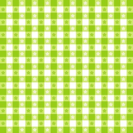 checked: Seamless tablecloth pattern