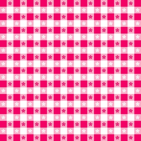 Seamless tablecloth pattern Vector