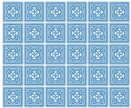 mediterranean homes: Seamless Tiles with Mexican Ceramic Design