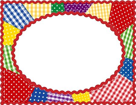 Patchwork Quilt Frame