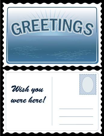 Groeten Travel Postcard