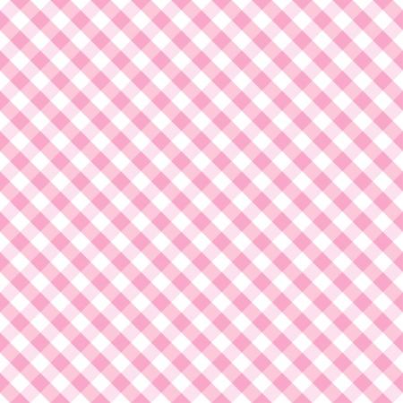 seamlessly: Seamless Croce Weave modello Gingham in rosa pastello e bianco include campione di pattern che senza soluzione di continuit� riempire qualsiasi forma