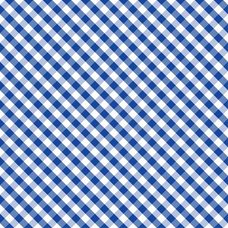 spachteln: Nahtlose Kreuz Weave Ginghammuster in Blau und Wei� enth�lt Muster-Farbfeld, das sich nahtlos f�llen wird eine beliebige Form