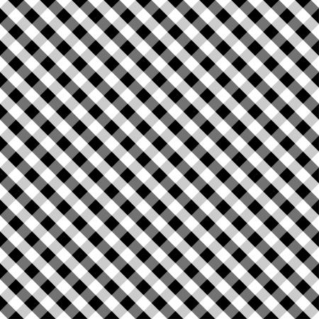 spachteln: Nahtlose Kreuz Weave Ginghammuster in Schwarz und Wei� enth�lt Muster-Farbfeld, das sich nahtlos f�llen wird eine beliebige Form