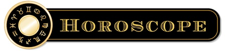 capricornio: Banner Horóscopo, 12 signos del sol de oro de la mandala zodiacal Cáncer, Leo, Libra, Virgo, Escorpio, Sagitario, Capricornio, Acuario, Piscis, Aries, Tauro, Géminis, aislado en blanco