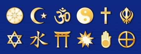 World Religions Vector